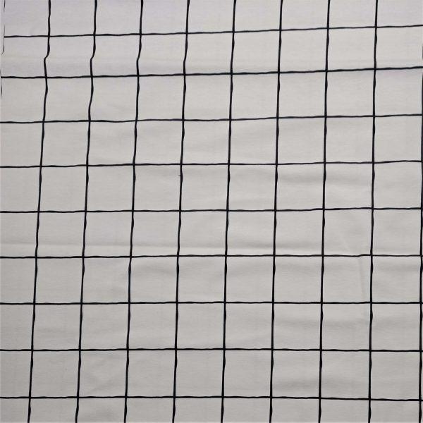 Fondo blanco cuadros grandes con líneas negras