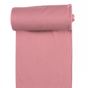 Tela tubular de puño rosa envejecido