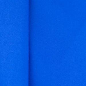Tela lisa popelín azul cobalto