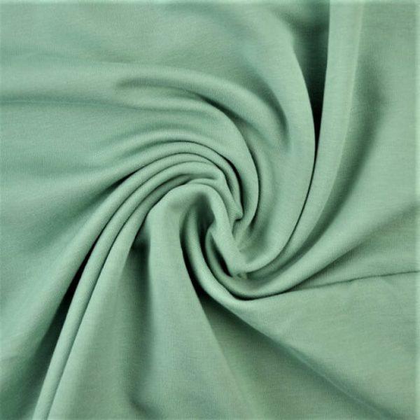 Tela de sudadera verde menta