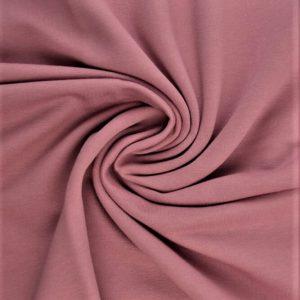 Tela de sudadera rosa envejecido