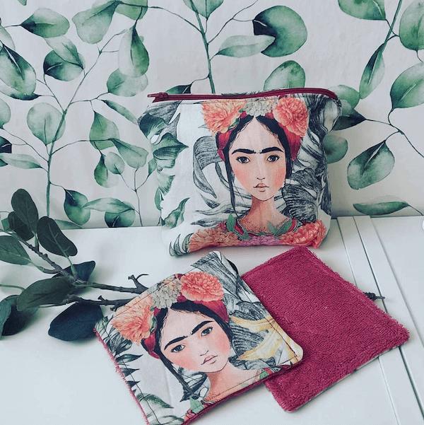 Neceser y toallitas Frida chvmarket