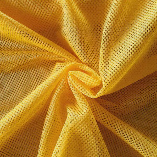 Tela de rejilla color amarillo
