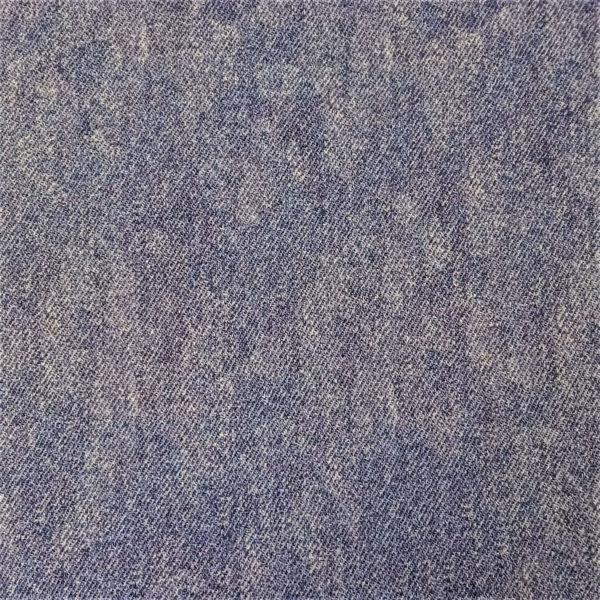 Maravilloso tejido de French Terry o sudadera de verano que a la vista parece tela tipo vaquera o denim color azul